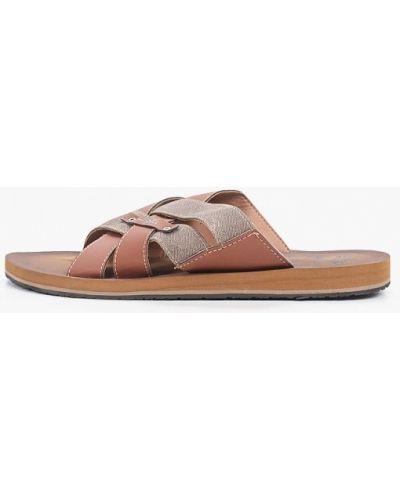 Коричневые кожаные спортивные сандалии Beppi