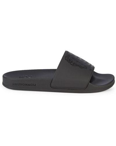 Черные сандалии с подкладкой Bruno Magli