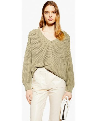 Пуловер турецкий хаки Topshop