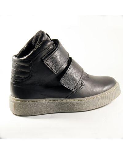 Кожаные ботинки - черные Nagaba