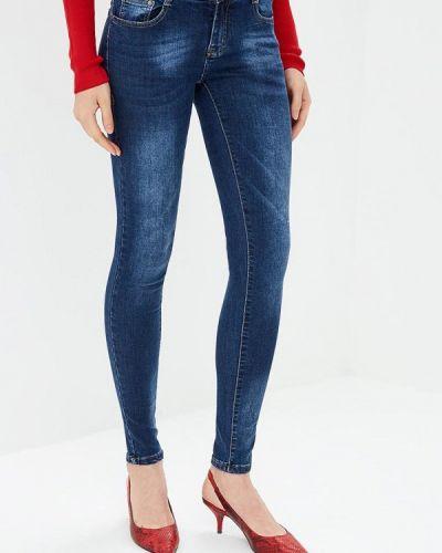 Синие джинсы-скинни Adrixx