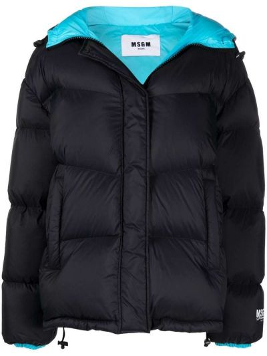 Дутая куртка - черная Msgm