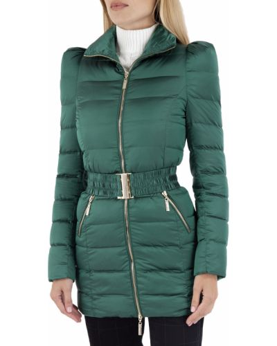Зеленая демисезонная куртка Mangano