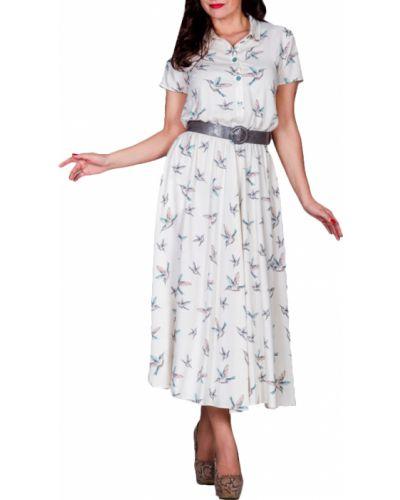 Летнее платье рубашка с поясом Lacywear