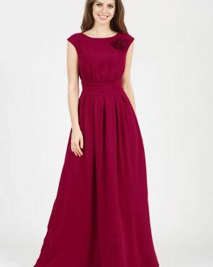 Повседневное платье бордовый красный Olivegrey