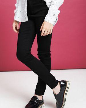 Классические черные джинсы с высокой посадкой с поясом Ostin