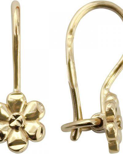 Золотые серьги французский золотой ювелирные традиции