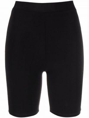 Черные шорты из полиэстера Atu Body Couture