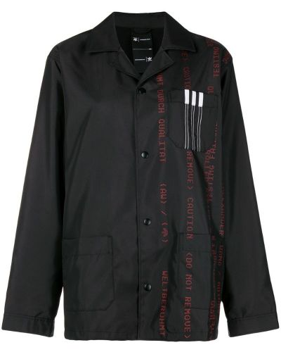 Куртка с рисунком - черная Adidas Originals By Alexander Wang