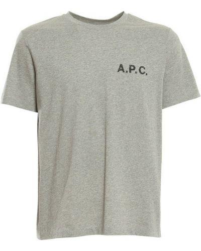Szara t-shirt A.p.c.
