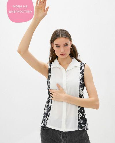 Белая блузка без рукавов Koton
