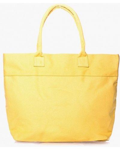 Желтая пляжная сумка Poolparty