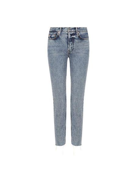 Укороченные джинсы синие Grlfrnd