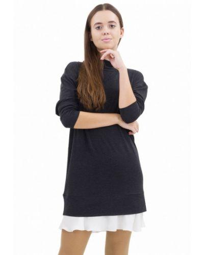 Повседневное черное платье Doctor E