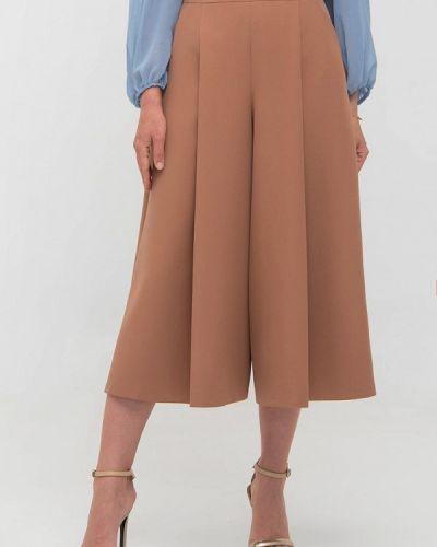 Широкие брюки - коричневые Giulia Rossi