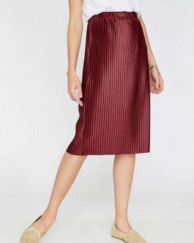 6d5c44e731c62 Купить плиссированные бордовые юбки в интернет-магазине Киева и ...