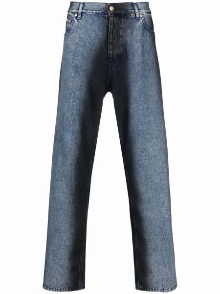 Czarne jeansy z paskiem Eytys