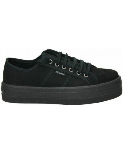 Czarne sneakersy Victoria