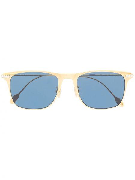 Золотистые желтые солнцезащитные очки с завязками Fred