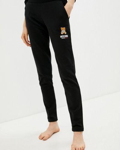 Черные спортивные брюки Moschino Underwear