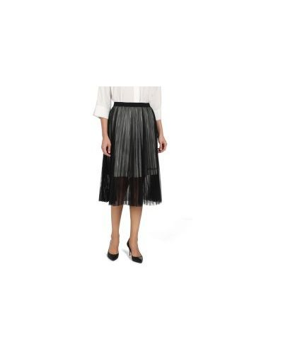 Джинсовая юбка черная Calvin Klein Jeans