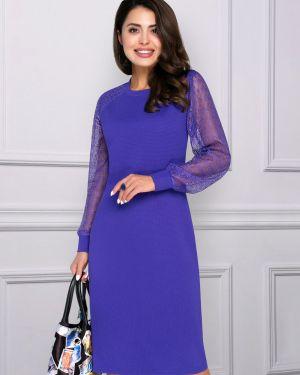Вечернее платье длинное - фиолетовое Charutti