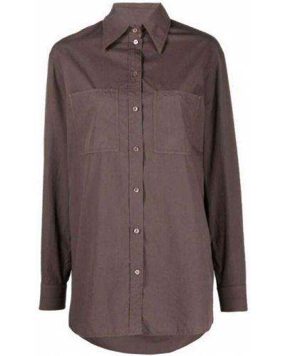 Koszula - brązowa Lemaire
