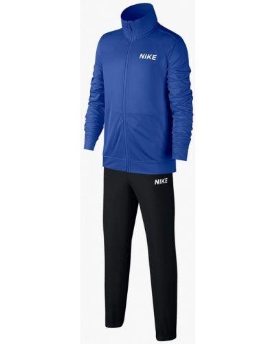 Спортивный костюм синий черный Nike