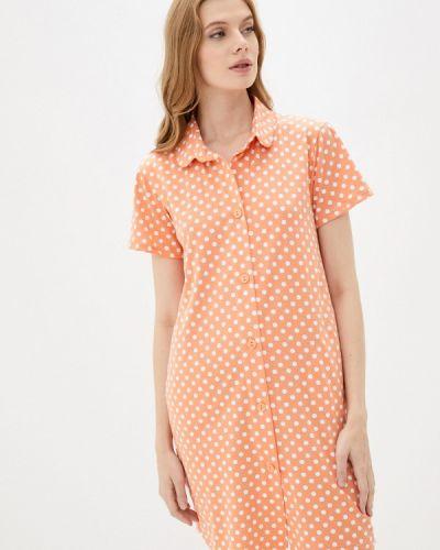 Клубное платье - оранжевое Nic Club