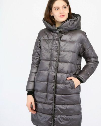 Утепленная куртка - серая Mosaic