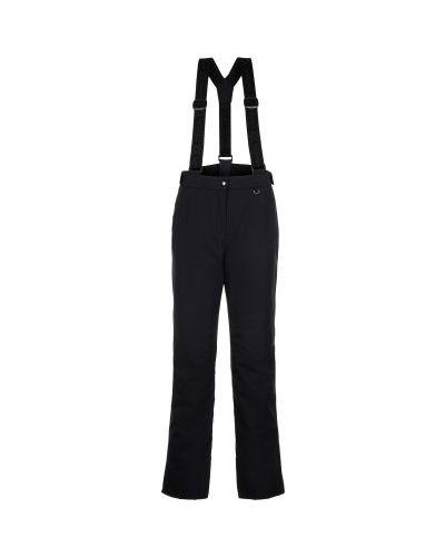 Прямые черные утепленные спортивные брюки VÖlkl