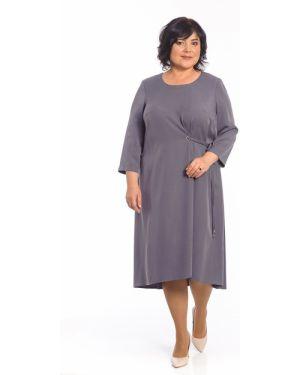 Платье с поясом классическое платье-сарафан Merlis