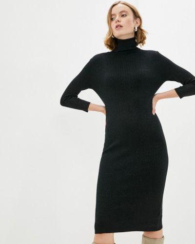 Вязаное платье - черное Vitacci