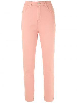 С завышенной талией джинсы-скинни с карманами на молнии Egrey