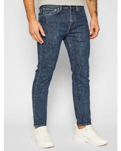 Mom jeans granatowe Edwin
