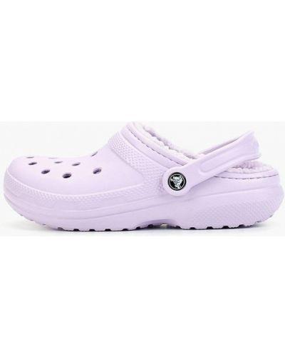 Сабо фиолетовый Crocs