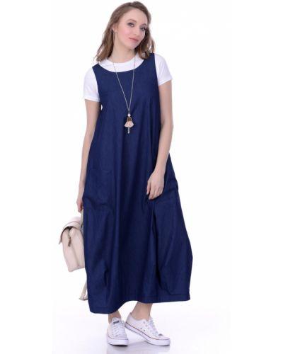 Платье с поясом в стиле бохо платье-рубашка Lautus