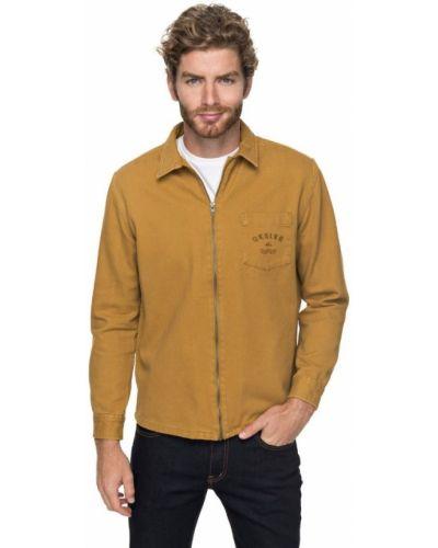 Коричневая куртка Quiksilver