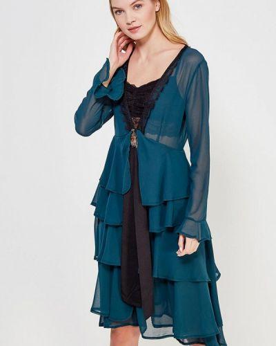 Платье весеннее зеленый Sister Jane