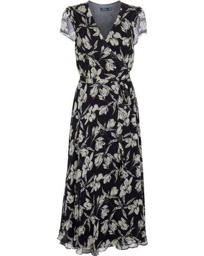 Платье миди - черное Polo Ralph Lauren