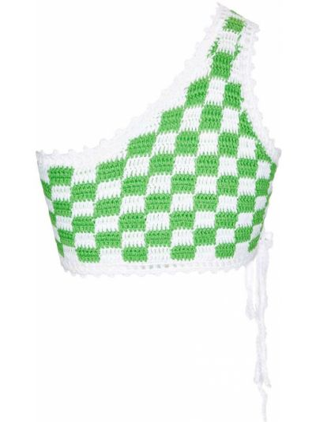 Зеленые пляжные бикини с завязками Frankie's Bikinis