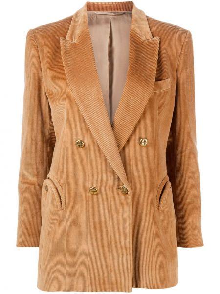 С рукавами пиджак с карманами с лацканами из вискозы Blazé Milano