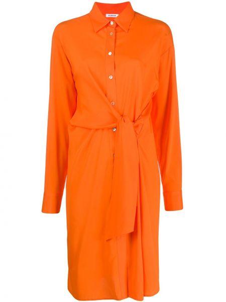 Платье миди на пуговицах платье-рубашка P.a.r.o.s.h.