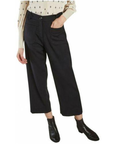 Czarne spodnie Sessun
