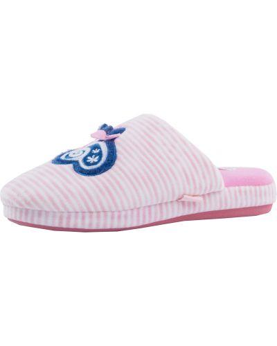 Тапочки белый розовый Mothercare