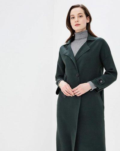 Зеленое пальто весеннее Fresh Cotton