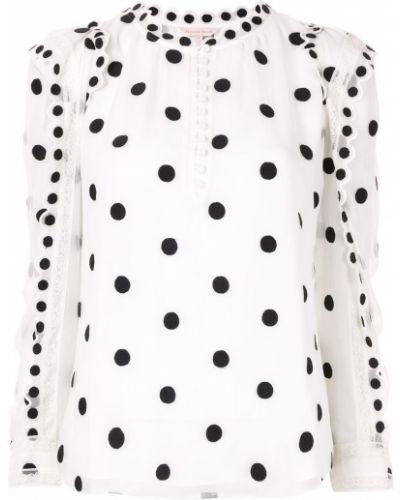 Кружевная блузка - белая Rebecca Taylor