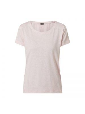 Różowy t-shirt bawełniany Lascana
