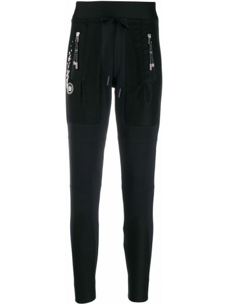 Czarne joggery z nylonu High By Claire Campbell