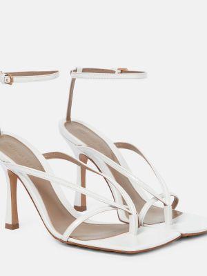 Кожаные туфли жёлтые белый Bottega Veneta